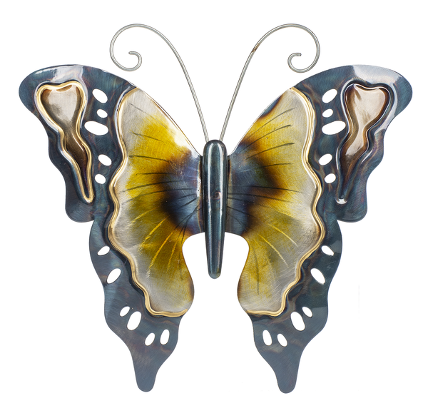 Butterfly Metallic wall decor