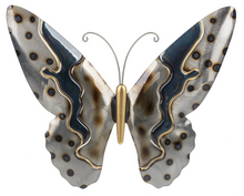 Load image into Gallery viewer, Butterfly metallic wall decor - Large