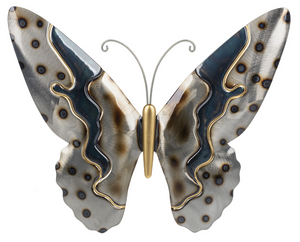 Butterfly metallic wall decor - Large