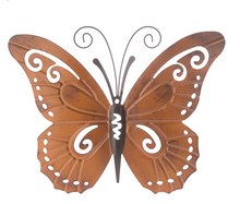Load image into Gallery viewer, Butterfly metal wall decor - Medium