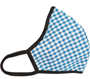 INMASK SAVIOUR CURVE - BLUE & WHITE CHECK