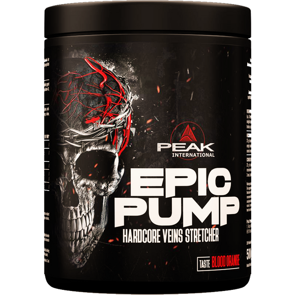 epic pump pre workout