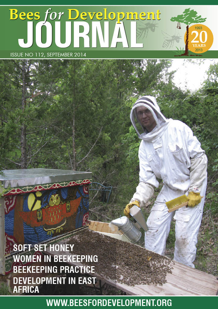 Bees for Development Journal Issue 112, September 2014 (Digital Download PDF)