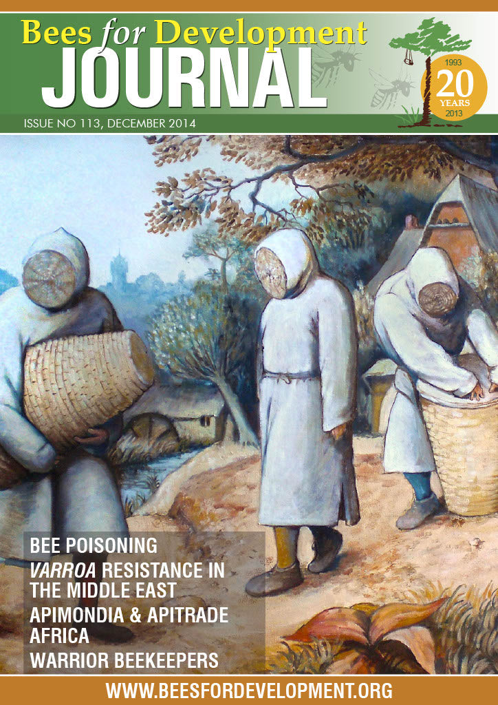 Bees for Development Journal Issue 113, December 2014 (Digital Download PDF)