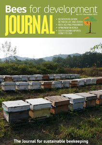 Bees for Development Journal Issue 117, December 2015 (Digital Download PDF)