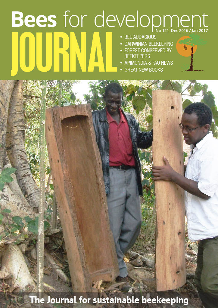 Bees for Development Journal Issue 121, December 2016 (Digital Download PDF)