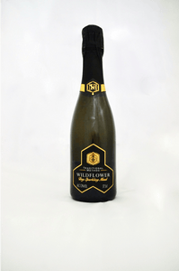 Wildflower Sparkling Mead 75cl - Northumberland Honey Co.