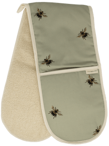 Cotton oven gloves - Claire Vaughan Designs