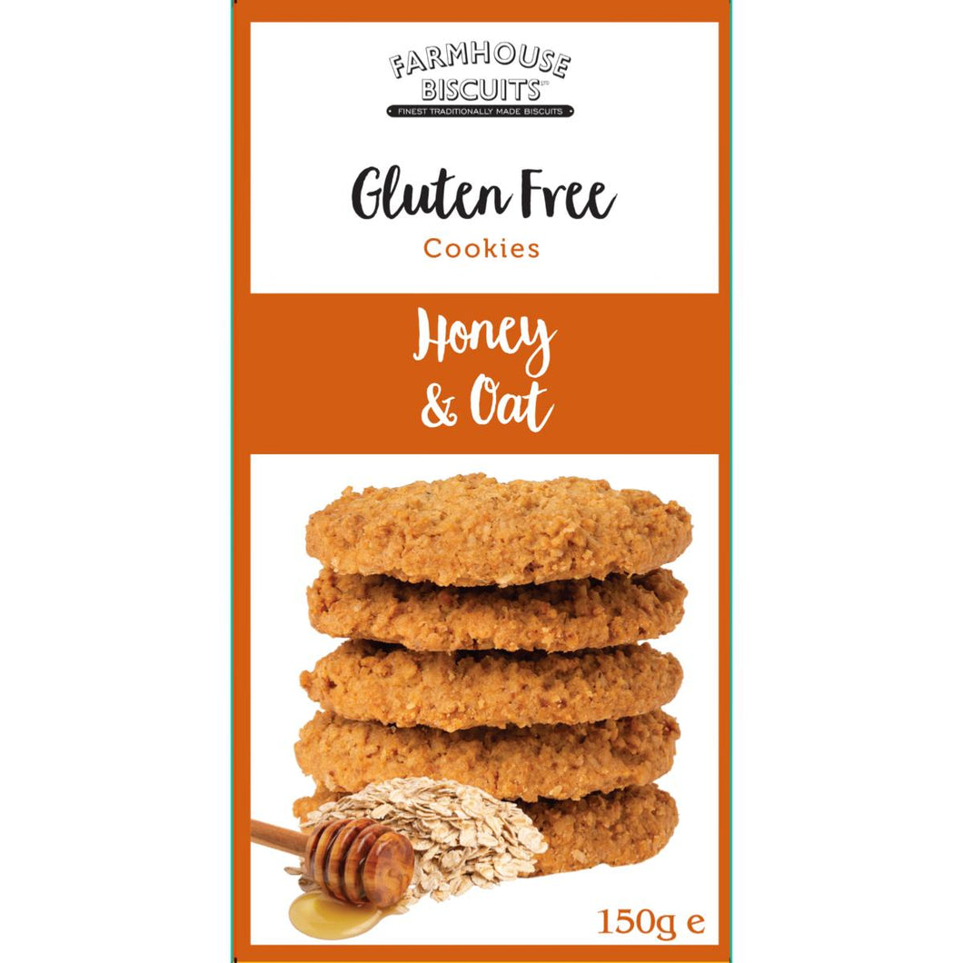 Gluten Free Honey & Oat Biscuits