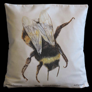 Organic cotton cushion - Tereska Shepherd