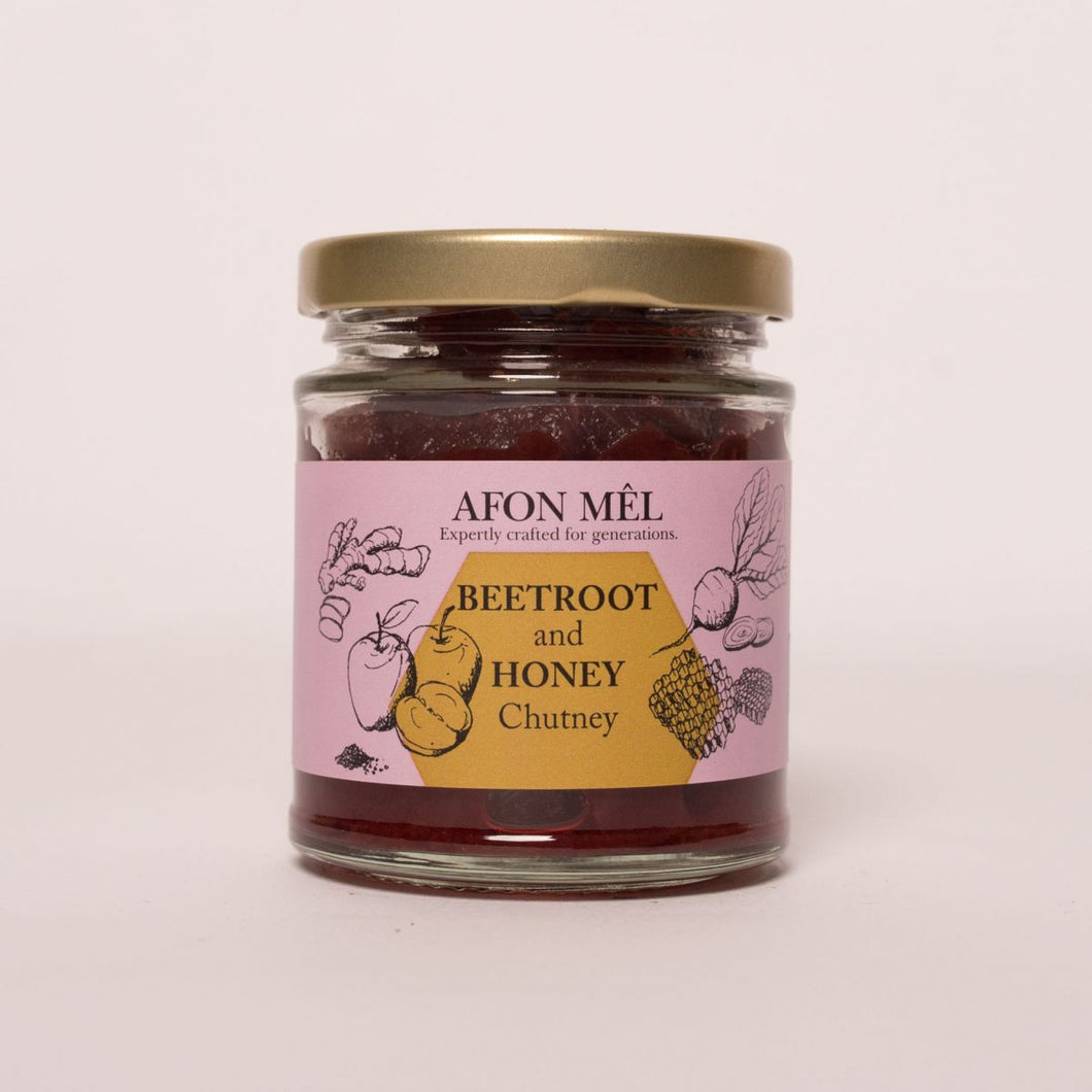 Afon Mêl Beetroot & Honey Chutney