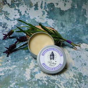 Lavender and lemon organic hand balm - Travelling Bee Company