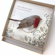Load image into Gallery viewer, Robin brooch - Vikki Lafford Garside