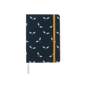Bees Small Fabric Notebook - Sophie Allport
