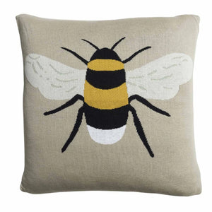 Bees Knitted Cushion - Sophie Allport