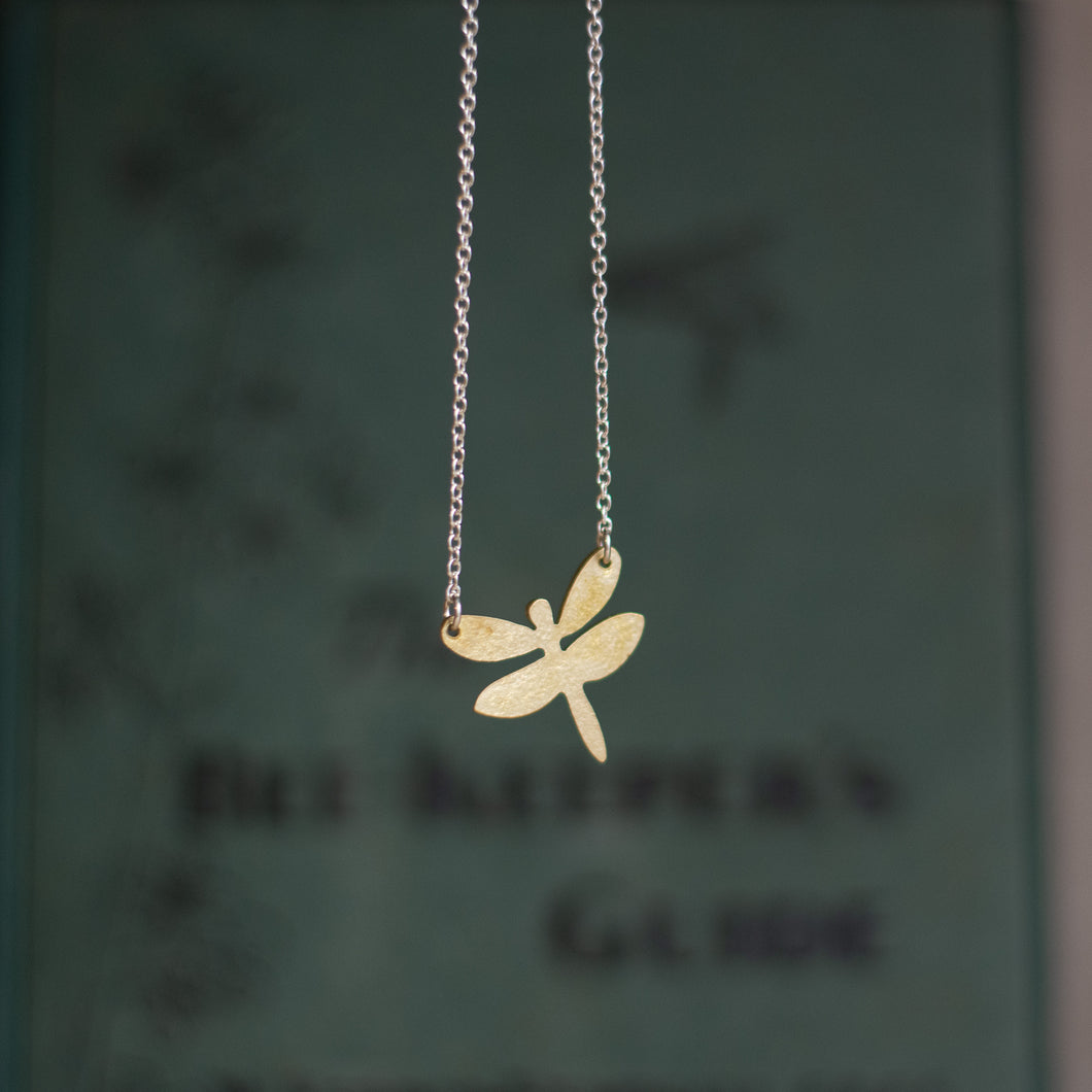 Coralie dragonfly necklace - Just Trade