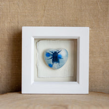 Load image into Gallery viewer, Framed ceramic heart - Clare Mahoney
