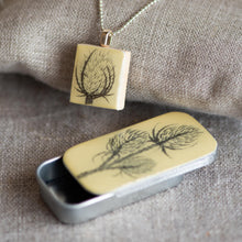 Load image into Gallery viewer, Cottage Garden Scrabble Tile Pendants - Leigh Shepherd Designs