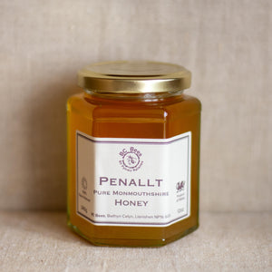 Penallt wildflower honey - BC Bees