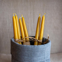 Load image into Gallery viewer, Pure beeswax candles made by David Heaf