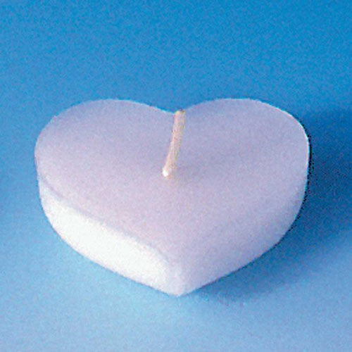 Candle mould, floating heart candle (tray)