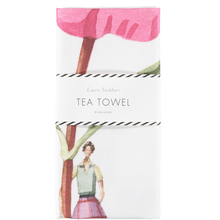 Load image into Gallery viewer, In Bloom tea towel - Laura Stoddart