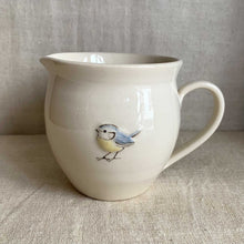 Load image into Gallery viewer, Hogben Pottery jug - blue tit