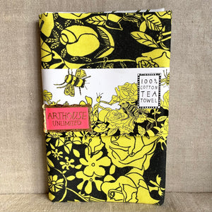 Bee Free tea towel - Arthouse Unlimited