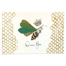 Load image into Gallery viewer, Queen Bee Tea Towel - Anna Wright