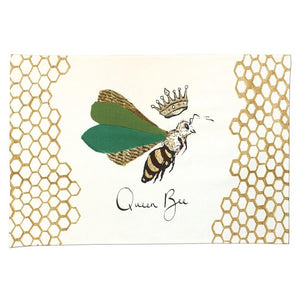 Queen Bee Tea Towel - Anna Wright