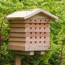 Load image into Gallery viewer, Interactive solitary bee hotel - Wildlife World