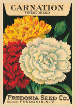 Load image into Gallery viewer, Greetings Cards  - Vintage Seed Packet 'Myrtle's Garden' Collection