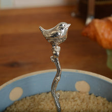 Load image into Gallery viewer, Wren Pewter Spoon