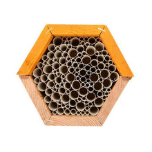 Load image into Gallery viewer, Hexagon bee hotel