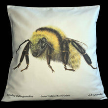 Load image into Gallery viewer, Organic cotton cushion - Tereska Shepherd