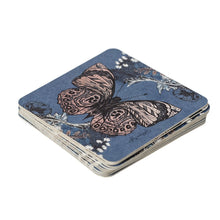 Load image into Gallery viewer, Re-usable/reversible Bee Print Paper Coasters - pack of 10