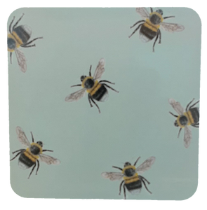 Bee melamine coasters - Claire Vaughan Designs