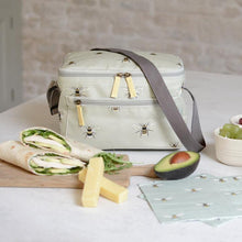 Load image into Gallery viewer, Bees Oilcloth Lunch Bag - Sophie Allport