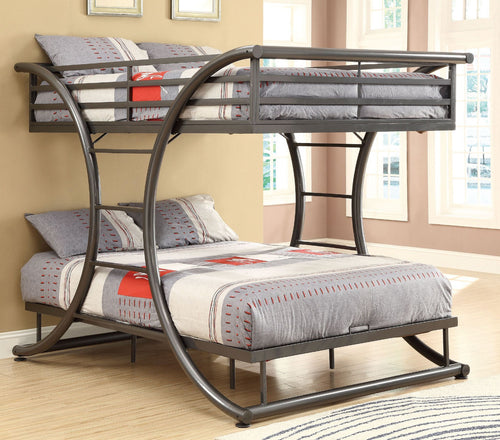 سرير طابقين - 120x200 BED01-Chic Homz