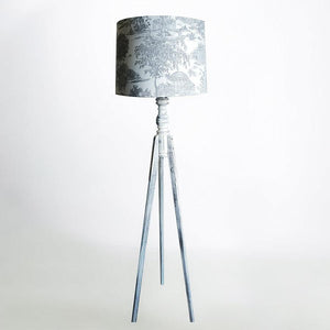 Floor Lamp - Light Grey Trees