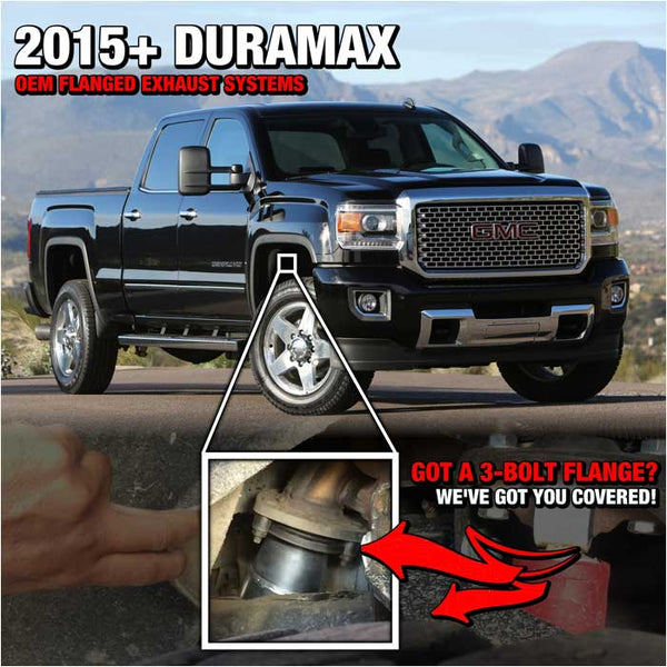 2015 or 2015.5 Duramax LML | Choose the correct exhaust system