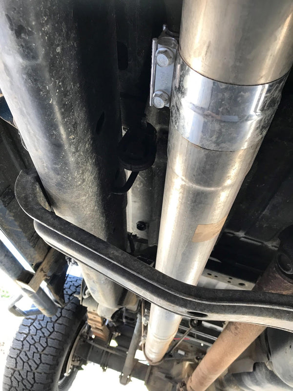 DPF Delete Exhaust | Am I missing a hanger?