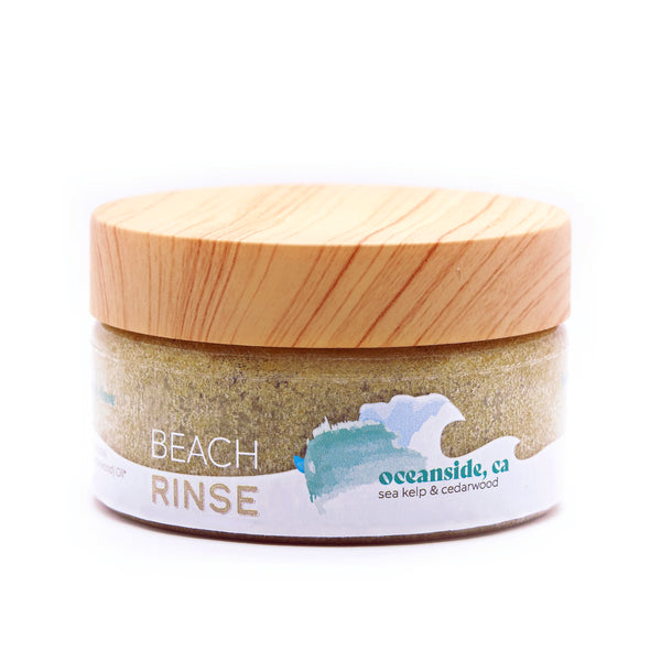 California 4 Pack of Beach Rinse