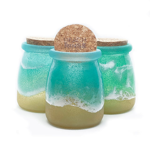 Ocean Glass Jar & Refill
