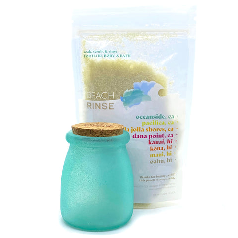 Sea Glass Jar & Refill