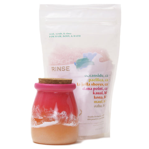 Sunset Glass Jar & Refill