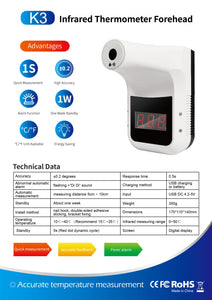 Non-contact Infrared Thermometer K3 Model