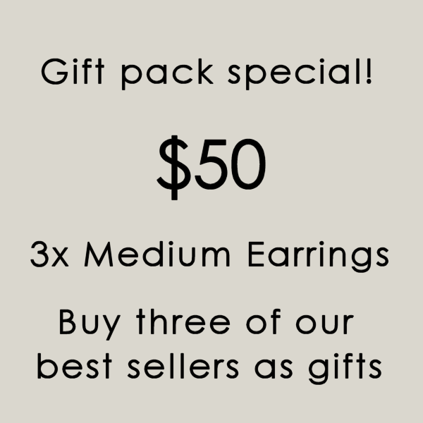 Medium Feathered Earring Gift Bundle