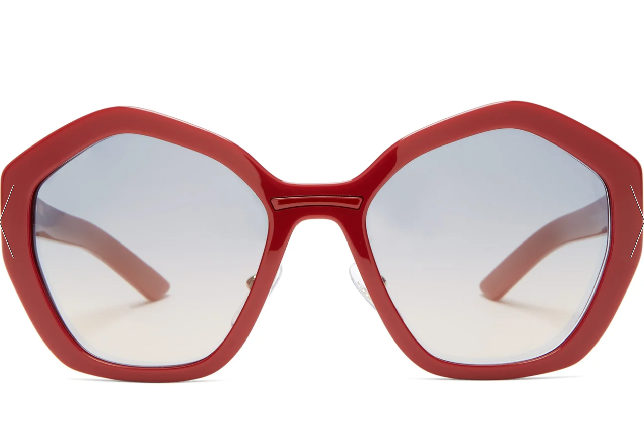 Super Stylish Prada Red Sunglasses