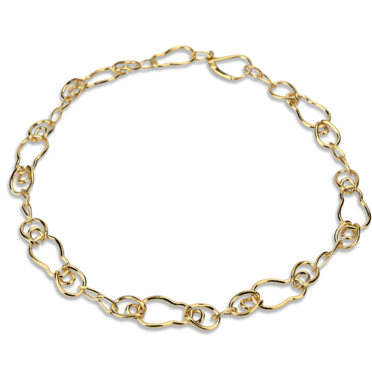 Chunky Gold Choker to compliment outfit